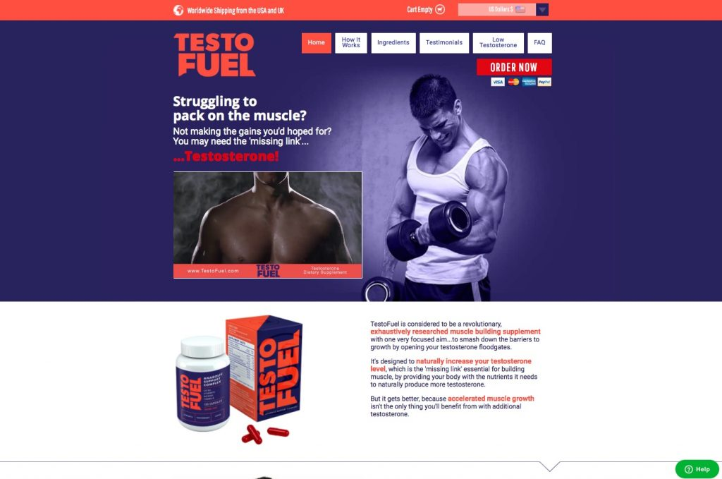 TestoFuel Review Australia