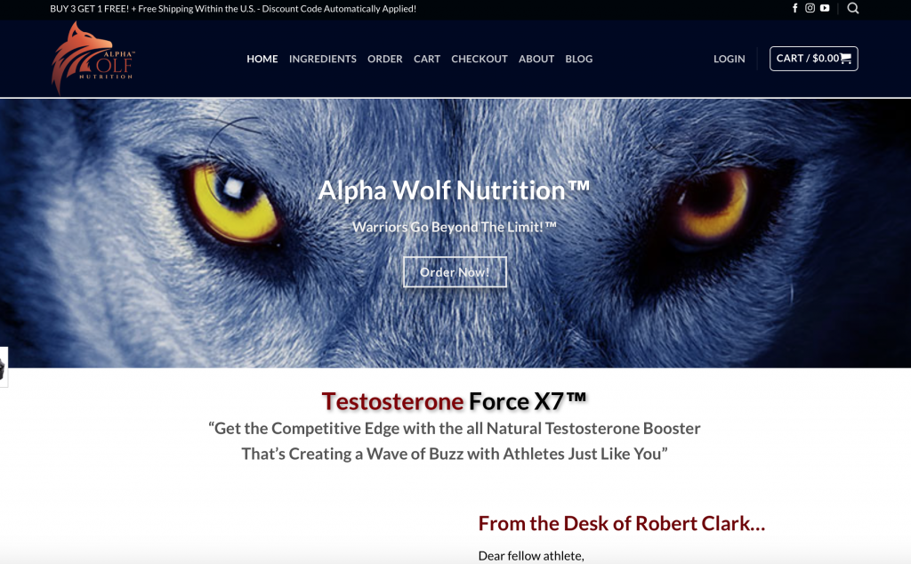 alpha wolf website